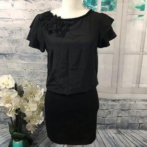 Trina Turk Black Mini Dress Sz 2(I16)